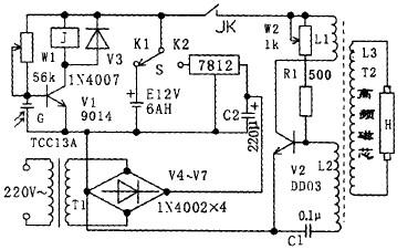电路 电路图 电子 原理图 378_226